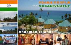 VU4AN Andaman Islands