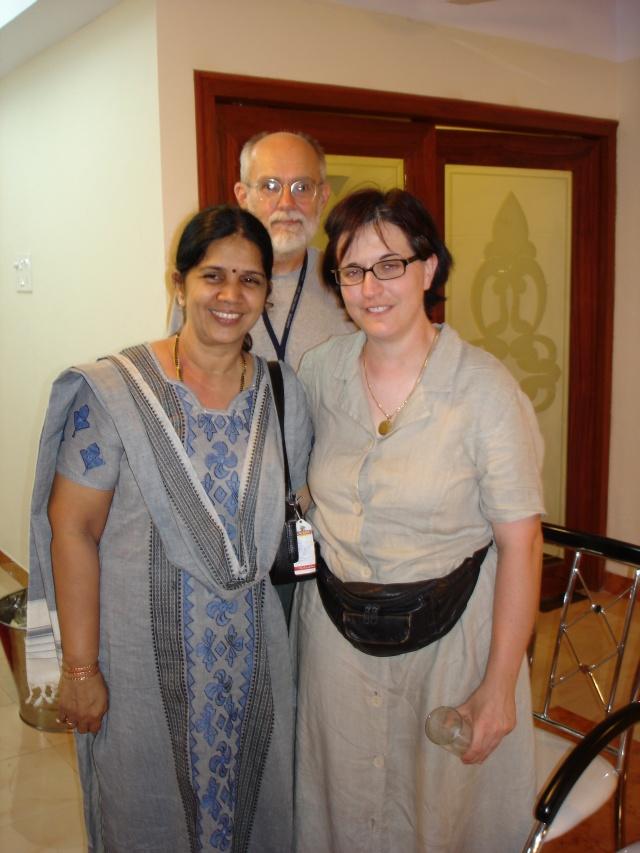 Bharathi, Doug and Claudia